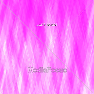 Abstract Diagonal Background. Pink Mosaic Pattern. Design For Banner, Poster, Leaflet Stock Photo