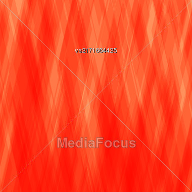 Abstract Diagonal Background. Red Mosaic Pattern. Design For Banner, Poster Stock Photo