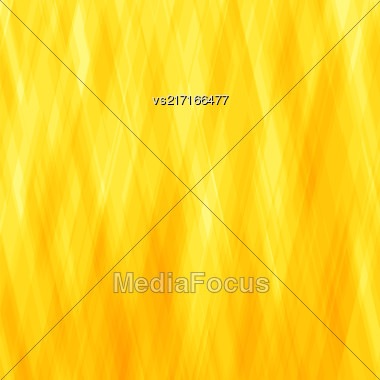 Abstract Diagonal Background. Yellow Mosaic Pattern. Design For Banner, Poster, Leaflet Stock Photo