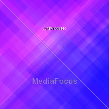 Abstract Elegant Blue Red Background. Abstract Blue Pink Pattern Stock Photo