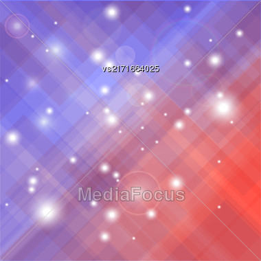 Abstract Elegant Blurred Blue Red Background. Abstract Blue Red Pattern Stock Photo
