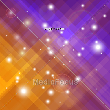 Abstract Elegant Blurred Orange Purple Background. Abstract Orange Purple Pattern Stock Photo