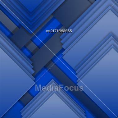 Abstract Elegant Diagonal Blue Background. Abstract Blue Pattern Stock Photo