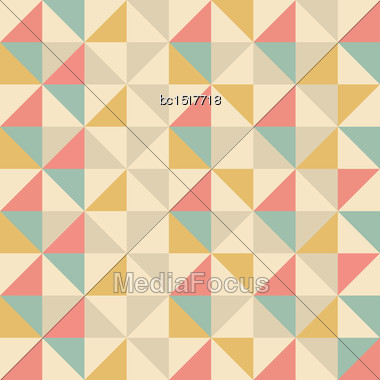Abstract Geometric Background, Vector Format Eps10 Stock Photo