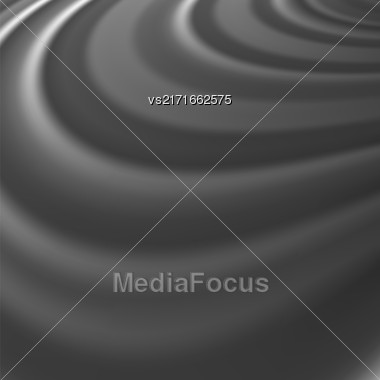 Abstract Glowing Grey Waves. Smooth Swirl Light Background Stock Photo