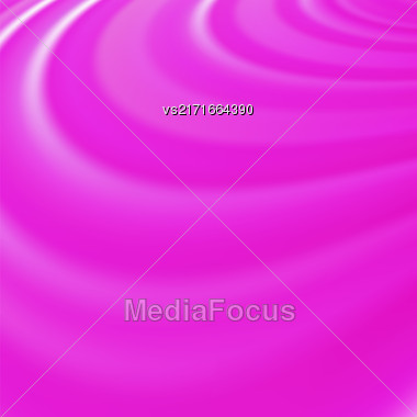 Abstract Glowing Pink Waves. Smooth Swirl Light Background Stock Photo