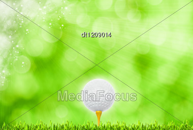 Abstract Golf Sport Art Backgrounds Stock Photo