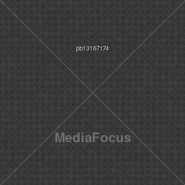 Abstract Grayscale Seamless Pattern. Vector, EPS10 Stock Photo