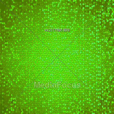 Abstract Green Mosaic Background. Abctract Green Mosaic Pattern Stock Photo