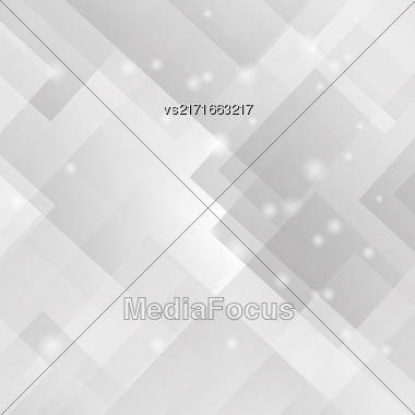Abstract Grey Background. Abstract Grey Futuristic Pattern Stock Photo