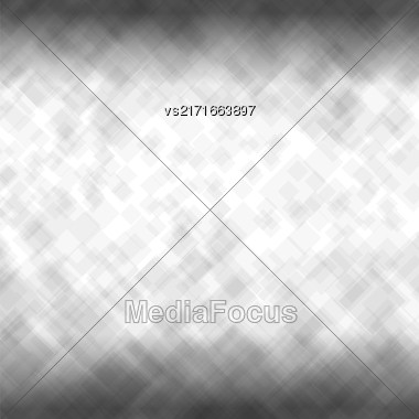 Abstract Grey Background. Grey Mosaic Pattern. Pattern Design For Banner, Poster Leaflet Stock Photo