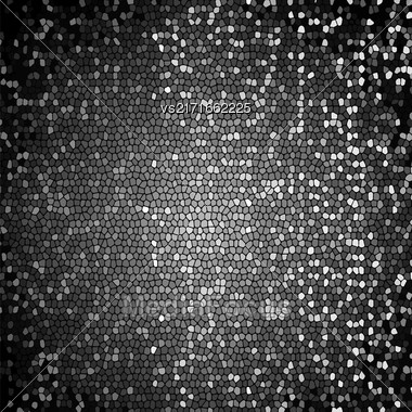 Abstract Grey Mosaic Background. Abctract Grey Mosaic Pattern Stock Photo
