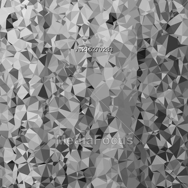 Abstract Grey Polygonal Background. Abstract Polygonal Pattern Stock Photo