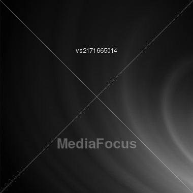Abstract Grey Wave Background. Blurred Dark Pattern Stock Photo