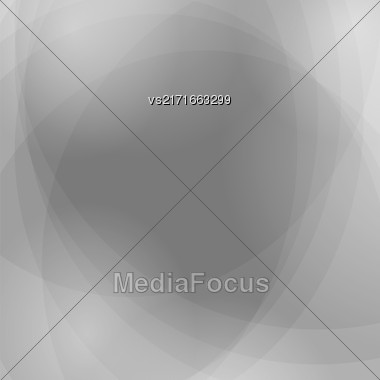 Abstract Grey Wave Background. Grey Light Pattern Stock Photo