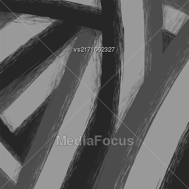 Abstract Grunge Grey Background. Retro Painting Template Stock Photo