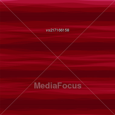 Abstract Horizontal Red Wave Background. Abstract Red Wave Pattern Stock Photo