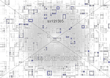 Abstract Image Of A Technological Relief Stock Photo