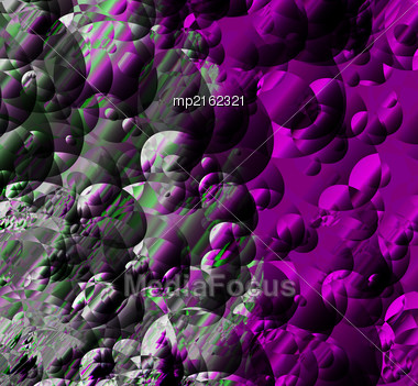 Abstract Of Interference On The Screen. Glitch Effect. Vector Illustration Stock Photo