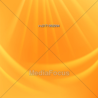Abstract Light Background. Blurred Lights Yellow Background Stock Photo