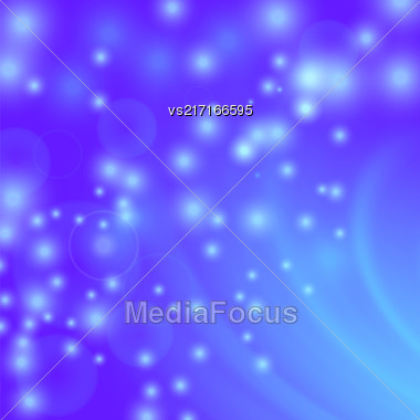 Abstract Light Blue Wave Background. Blurred Blue Pattern Stock Photo