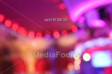 Abstract Light Bokeh As Background Stock Photo