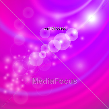 Abstract Light Pink Wave Background. Blurred Pink Pattern Stock Photo