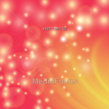 Abstract Light Red Wave Background. Blurred Red Pattern Stock Photo