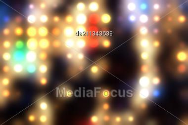 abstract light  spots  background Stock Photo