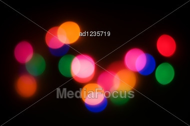 Abstract Lights Background Stock Photo