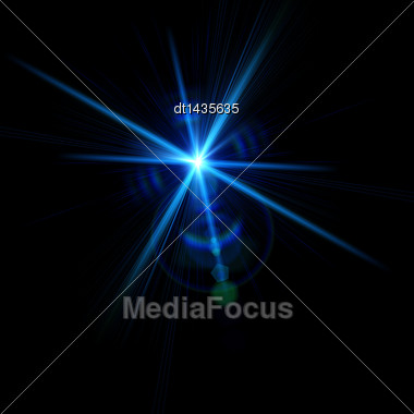 Abstract Lights Over Black Backgrounds For Your Design Stock Photo