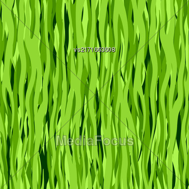 Abstract Line Green Pattern. Elegant Vertical Background Stock Photo