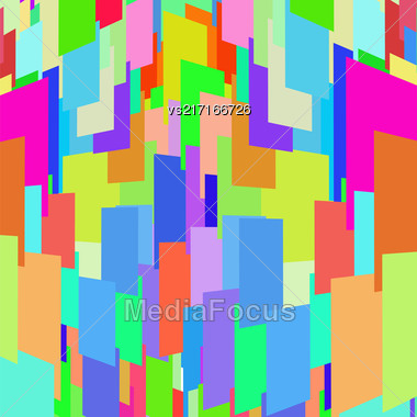 Abstract Mosaic Colorful Background For Your Design Stock Photo