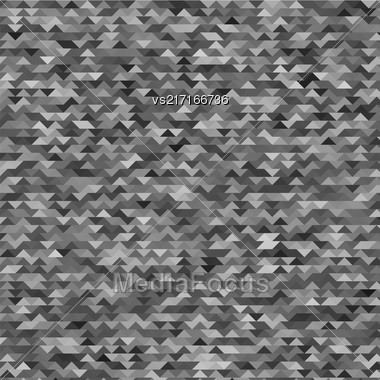 Abstract Mosaic Grey Background For Your Design Stock Photo