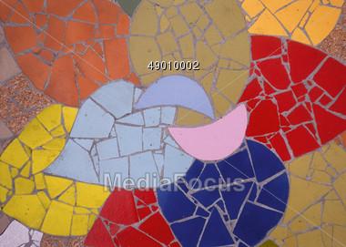Abstract Mosaic Pattern Stock Photo