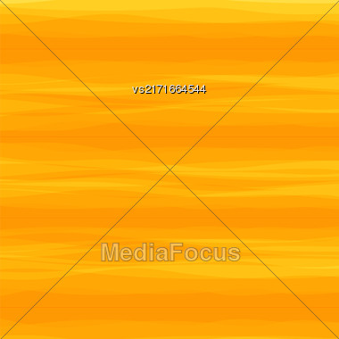 Abstract Orange Horizontal Wave Background. Abstract Wave Orange Pattern Stock Photo