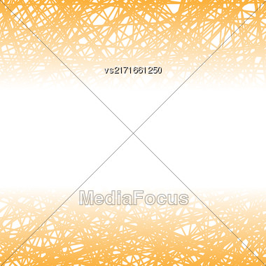 Abstract Orange Line Background. Grunge Orange Line Pattern Stock Photo
