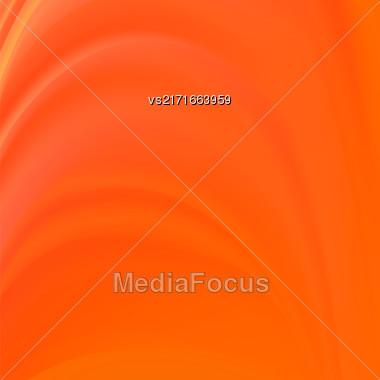 Abstract Orange Wave Background. Blurred Orange Pattern Stock Photo