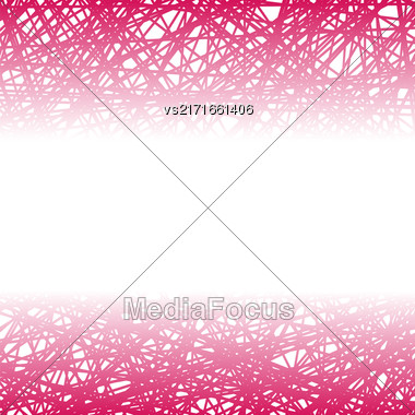 Abstract Pink Line Background. Grunge Pink Line Pattern Stock Photo