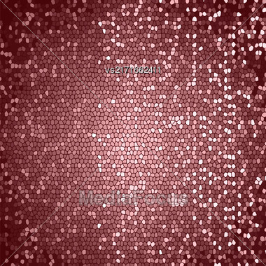 Abstract Pink Mosaic Background. Abctract Pink Mosaic Pattern Stock Photo