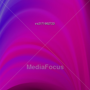 Abstract Pink Wave Background. Blurred Pink Pattern Stock Photo