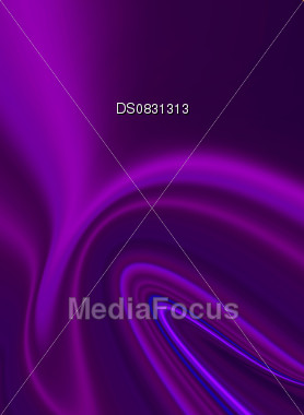 Abstract purple folds that look like silk Stock Photo