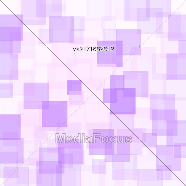 Abstract Purple Squares Background. Abstract Purple Squares Futuristic Pattern Stock Photo