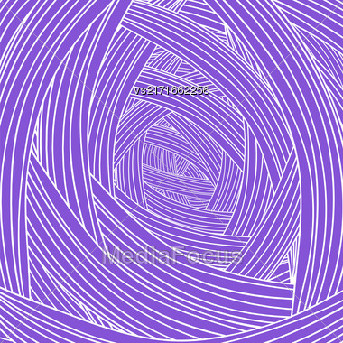 Abstract Purple Wave Background. Abstract Wave Pattern Stock Photo