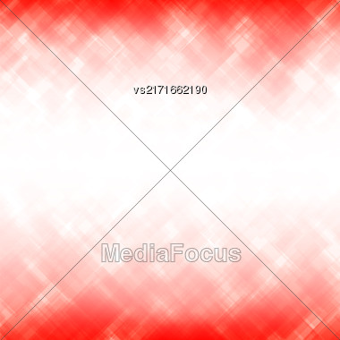 Abstract Red Background. Square Mosaic Pattern. Template Design For Banner, Poster, Flyer Stock Photo