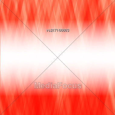 Abstract Red Background. Square Mosaic Pattern. Template Design For Banner, Poster Stock Photo