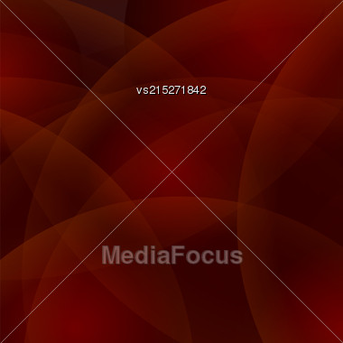 Abstract Red Circle Background. Red Wave Pattern Stock Photo