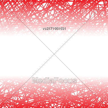 Abstract Red Line Background. Grunge Red Line Pattern Stock Photo