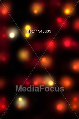 abstract red spots  background Stock Photo