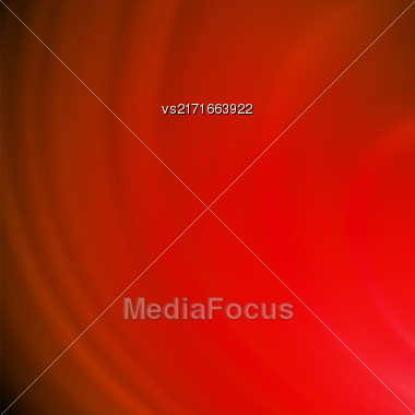 Abstract Red Wave Background. Blurred Red Pattern Stock Photo